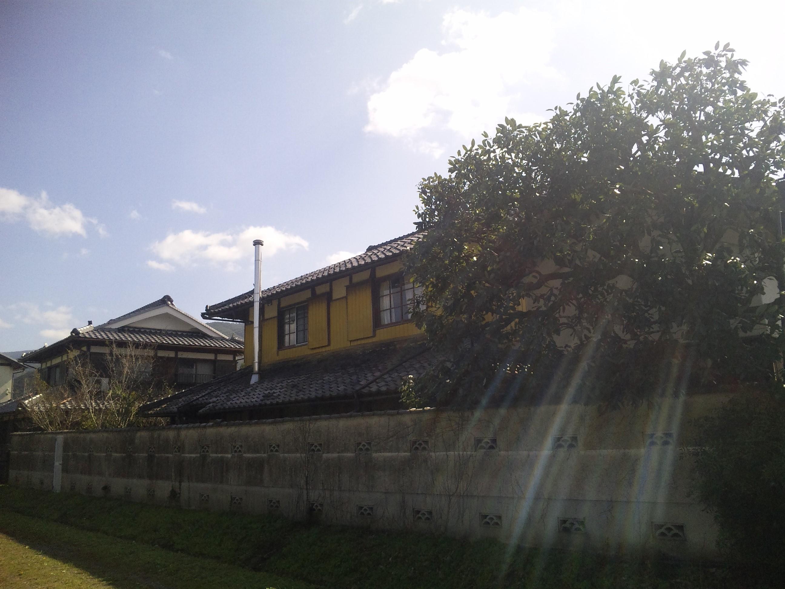 ゲストハウス藤原邸裏口